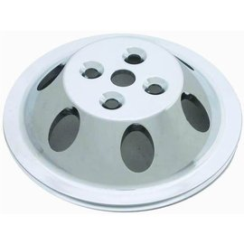Affordable Street Rods Small Block Chevy Short Water Pump 1 Groove Water Pump Pulley
