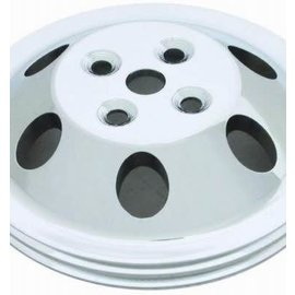 Affordable Street Rods Small Block Chevy Long Water Pump 2 Groove Water Pump Pulley