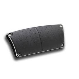 Clayton Machine Works AUTOMATIC BRAKE PEDAL PAD - BLACK - BPA-206-B