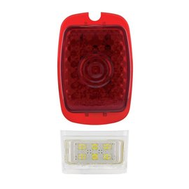 United Pacific 37-38 Chevy Passenger Car & 40-53 Chevy & GMC Truck LED Sequential Tail Light LH - 110110