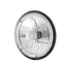 "United Pacific 7"" Headlight with White LED Halo Ring - #31285"