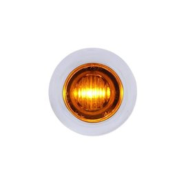 United Pacific 3 LED Mini Light  - Amber - #37967
