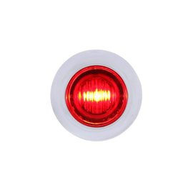United Pacific 3 LED Mini Light - Red - #37968