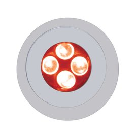 United Pacific 4 LED Fastener - Red - 38690