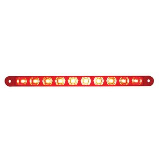 "United Pacific 9"" Turn Signal Light Bar - Red LED  - 38943B"