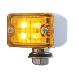 United Pacific Small LED Rod Light - Amber - 39188