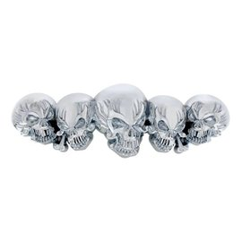 United Pacific Chrome Skull Accent - 50112