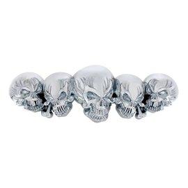 United Pacific Chrome Skull Accent - 50112