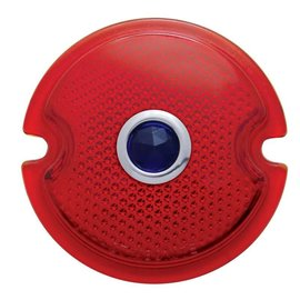 United Pacific 33-36 Ford Red Glass Lens with Blue Dot - A5003