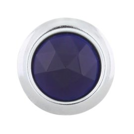 United Pacific Blue Dots - Chrome Rings - #A5010