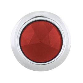 United Pacific Red Dots - Chrome Rings - #A5010-5