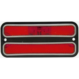 United Pacific 68-72 Chevy Truck LED Side Marker - Red - CML6872R