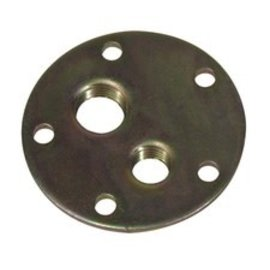 """Tanks Inc. Fuel Sender 5 Hole Pattern Bolt-in Plate with 1/4"""" & 3/8"""" NPT Threads - 5MPT"""