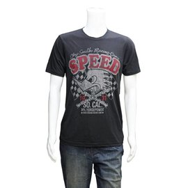 "Clay Smith Cams CS 12 - Mr. Horsepower ""Speed"" T-Shirt - Grey"