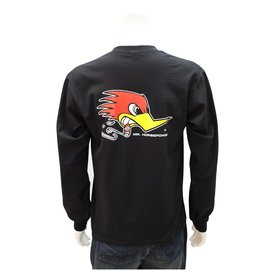 Clay Smith Cams CS 13 - Mr. Horsepower Long Sleeve T-Shirt - Black