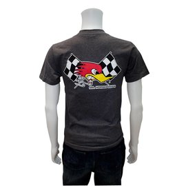 Clay Smith Cams CS 05 - Mr. H Checkered Flag T-Shirt - Charcoal