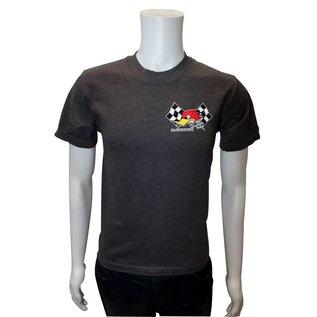Clay Smith Cams CS 05 - Mr. H Checkered Flag T-Shirt - Charcoal