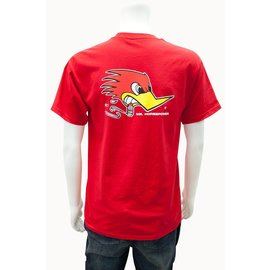 Clay Smith Cams CS 03 - Mr. Horsepower Traditonal T-Shirt - Red