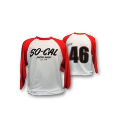 So-Cal Speed Shop SC 05 - SO-CAL Baseball - Red/White