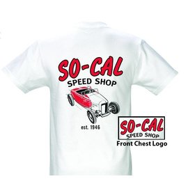 So-Cal Speed Shop SC 12 - So-Cal Roadster - White