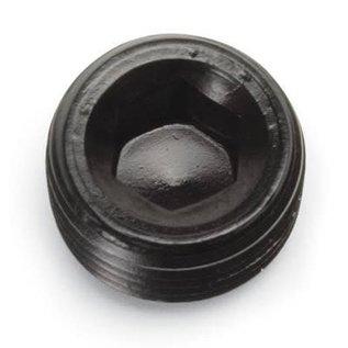 """Tanks Inc. 1/4"""" NPT Allen Head Pipe Plug - 662043"""