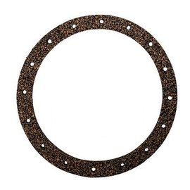 "Tanks Inc. 6"" Diameter 16 Hole Cork Gasket For PA Pumps - 6G"