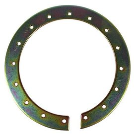 "Tanks Inc. 6"" Threaded Mounting Ring - Mild Steel - 6TMR-MS"