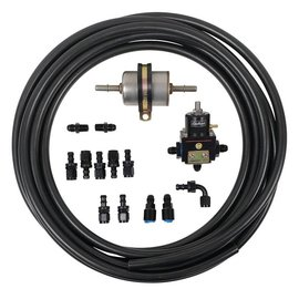 Tanks Inc. Carbureted Fuel Line Kit w/Bypass Regulator - CARB-LINE-KIT