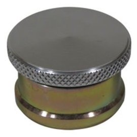 "Tanks Inc. Fuel Cap w/Weld-in Bung - Steel neck - 1"" tall - EZ1G"