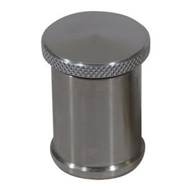 "Tanks Inc. Aluminum Cap with 2"" Tall Stainless Neck - EZ2S"
