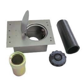 Tanks Inc. Fuel Filler Door Kit - Flat with Straight Enclosure - FFD-S