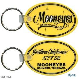 Mooneyes Mooneyes - Oval Key Chain