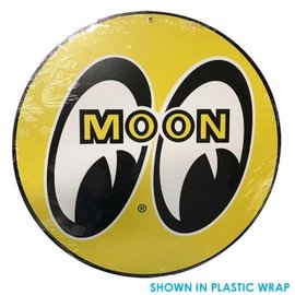 Mooneyes Mooneyes Logo Metal Sign