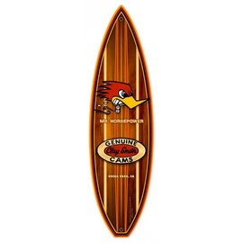Clay Smith Cams Garage Sign - Clay Smith Cams Surfboard