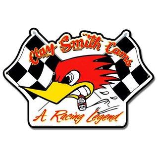 Clay Smith Cams Clay Smith Racing Flags Garage Sign