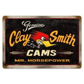 Clay Smith Cams Garage Sign - Clay Smith Genuine Black