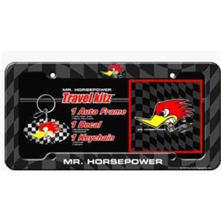 Clay Smith Cams Mr. Horsepower Automotive Kit - Mr. H License Plate Cover, Key Chain, Decal - A35