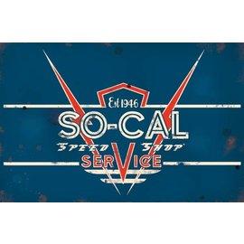 So-Cal Speed Shop Garage Sign -Service Logo
