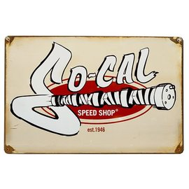 So-Cal Speed Shop Garage Sign - SO-CAL Vintage Cam