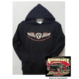 Affordable Street Rods RP 21H - ASR Original Logo Hoodie Sweatshirt
