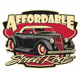 Affordable Street Rods RP21 - ASR Short Sleeve T-Shirt