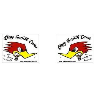 Clay Smith Cams CS 29S SM Sticker - Pair