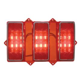 United Pacific 69 Ford Mustang LED Tail Light Lens - FTL6901LED