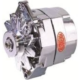Powermaster Performance Alternator 12SI 140A Polished - 67293