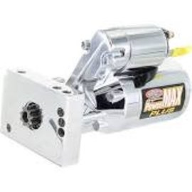 Powermaster Performance Power Max Plus GM Starter - Chrome - 19000