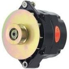 Powermaster Performance Alternator - 12SI - 140A Black - 57294
