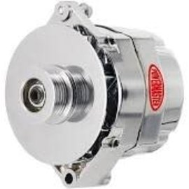Powermaster Performance Alternator - 12SI - 140A Chrome - 37293