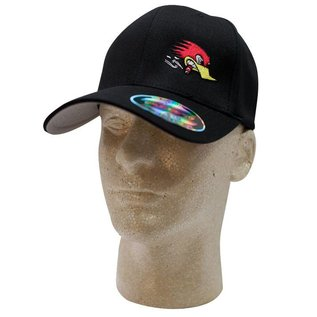 Clay Smith Cams Mr. Horsepower Black Hat with Side Logo