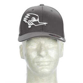 Clay Smith Cams Mr Horsepower Gray Hat with White Outline Logo