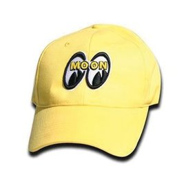 Mooneyes Cap with Logo - Black or Yellow